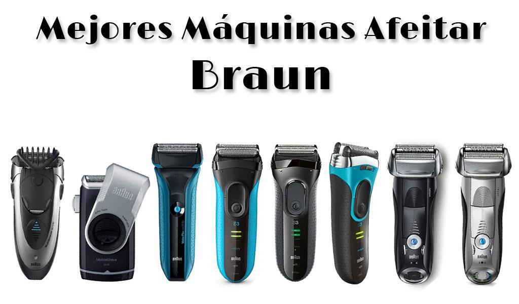 Mejores máquinas de afeitar eléctricas de Braun