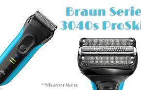 Análisis Braun 3040s: Máquina de afeitar Robusta de la Serie 3