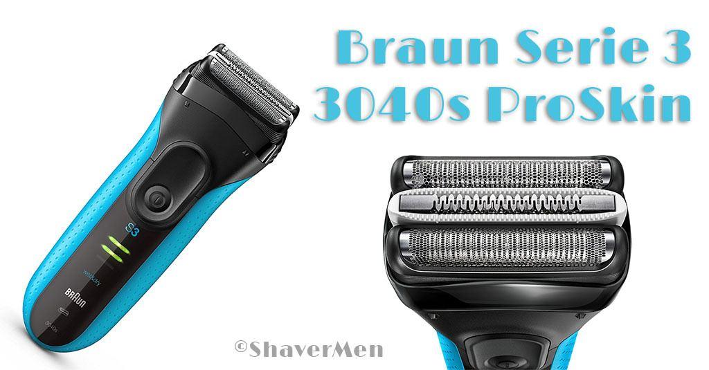 Braun Serie 3 3040s ProSkin