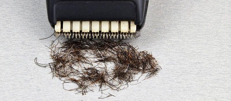 Recortar la barba antes de afeitarse