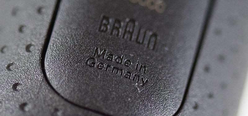 Braun 5090cc detalle de procedencia fabricación
