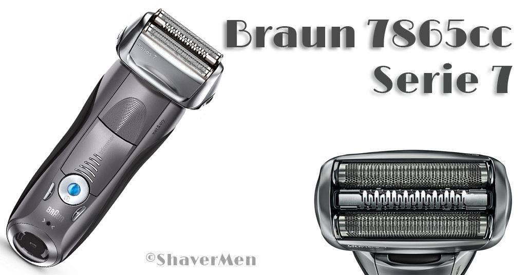 Braun Serie 7865cc análisis