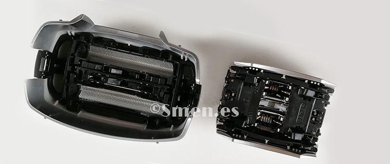 Cabezales series 7 Braun vs Panasonic 4 hojas