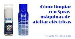 Cómo limpiar con Spray tu Máquina de Afeitar PERFECTAMENTE