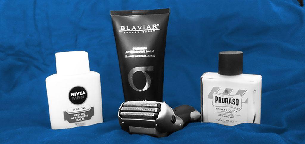 Aftershave para Máquinas de afeitar eléctrica