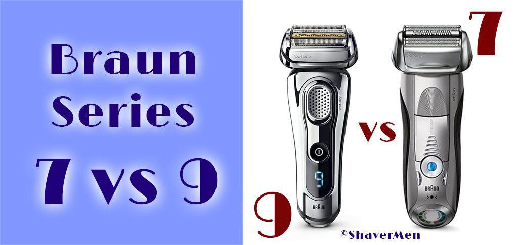 Braun series 7 vs 9