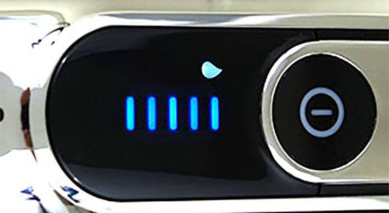 Indicador limpieza LCD Braun Serie 9