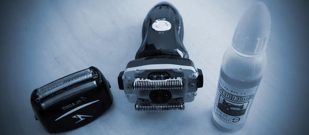 cómo lubricar una máquina de afeitar eléctrica