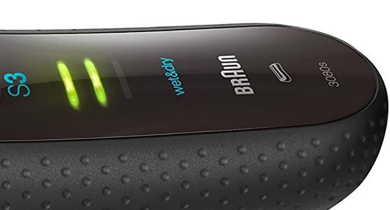 Panel visualización nivel batería Braun 3080s