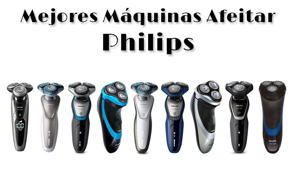 Mejores máquinas de afeitar eléctricas de Philips