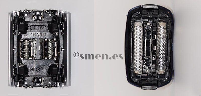 Diferencias Cassette Panasonic 4 hojas y Cassete Braun 52s