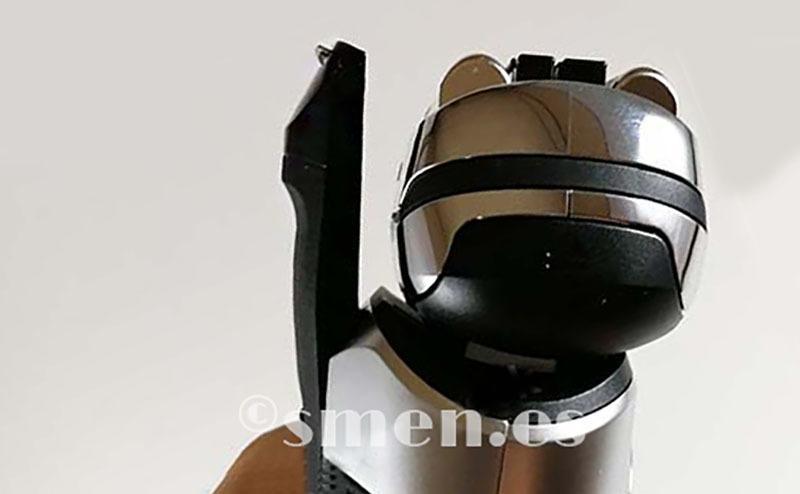 recortador encima cabezal braun 9290cc